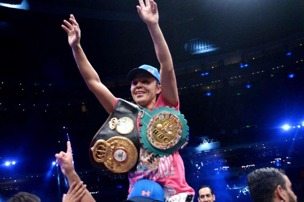 A Jackie no le desagrada la idea de volver a pelear con Ana María Torres o buscar a Mariana Juárez. Foto: Alma Montiel/CMB