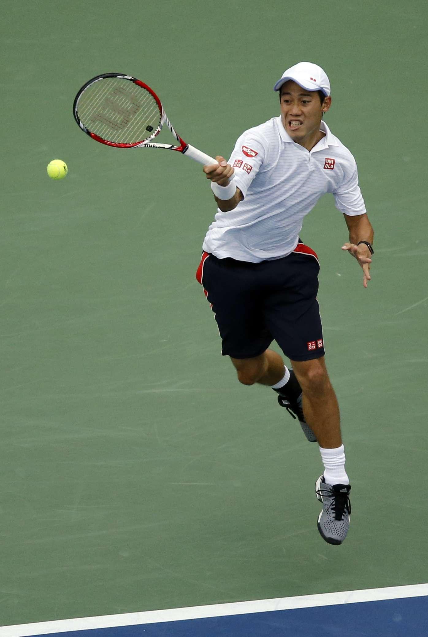 El croata Marin Cilic y el japonés Kei Nishikori se disputan el título del US Open, último Grand Slam del año 2014, en Nueya York Foto: AFP en español