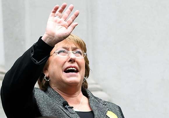 Presidenta Michelle Bachelet Foto: UPI