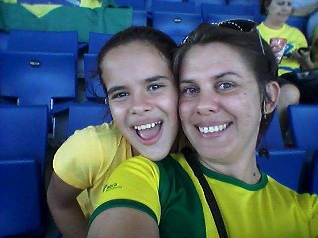 Dani Danchura vai levar a filha Lua Maria ao jogo do Flamengo Foto: Arquivo Pessoal