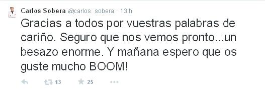 Foto: Twitter @carlos_sobera