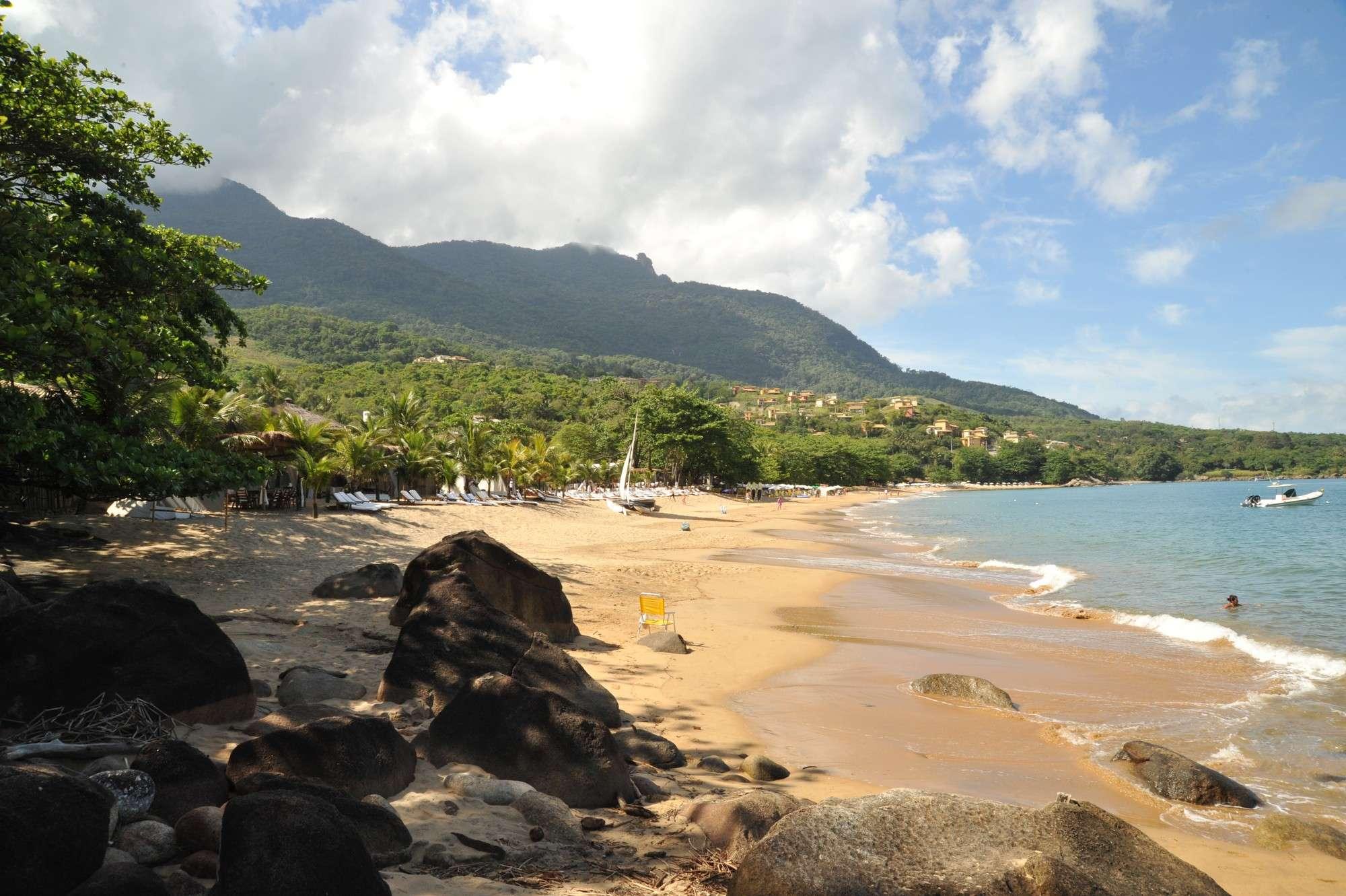Ilhabela é um dos principais destinos de cruzeiros em São Paulo, com belas praias e Mata Atlântica preservada Foto: Ronald Kraag/Divulgação Prefeitura de Ilhabela