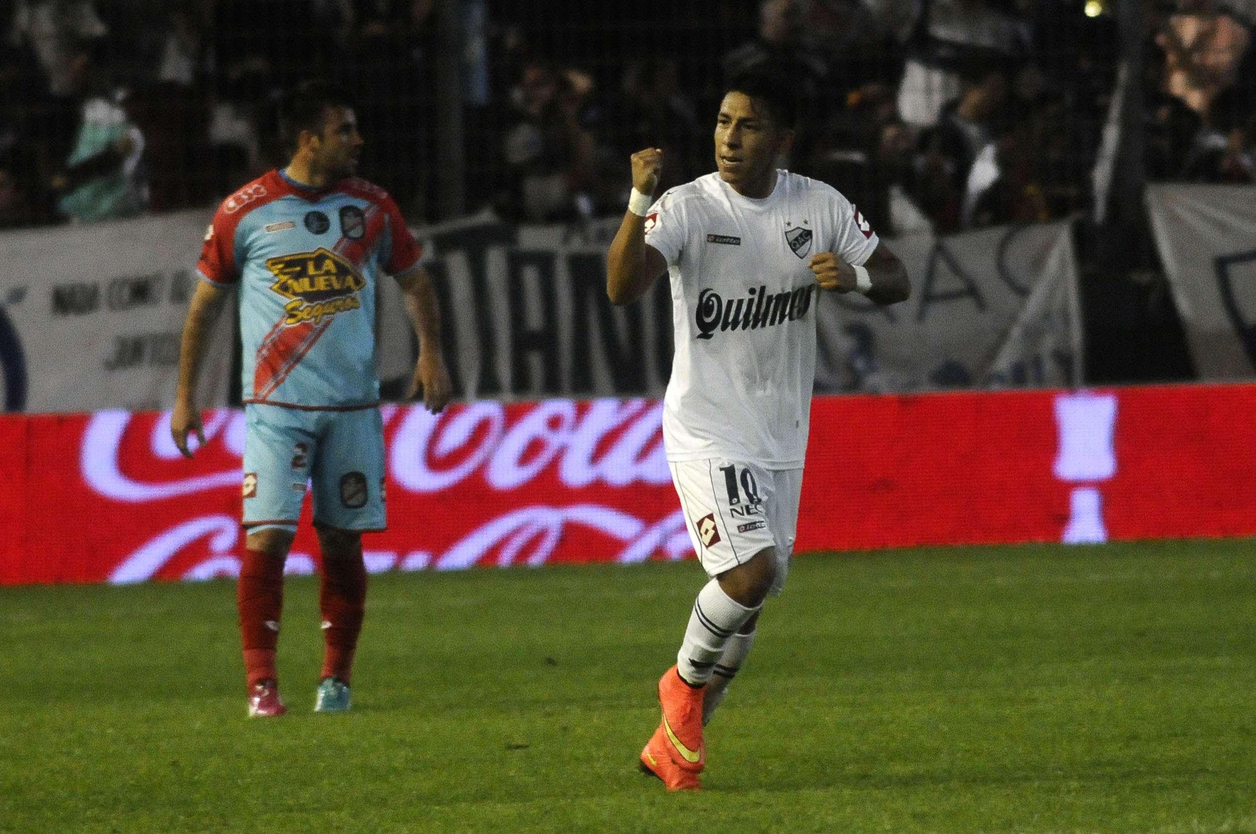 Quilmes goleó a Arsenal Foto: Agencias