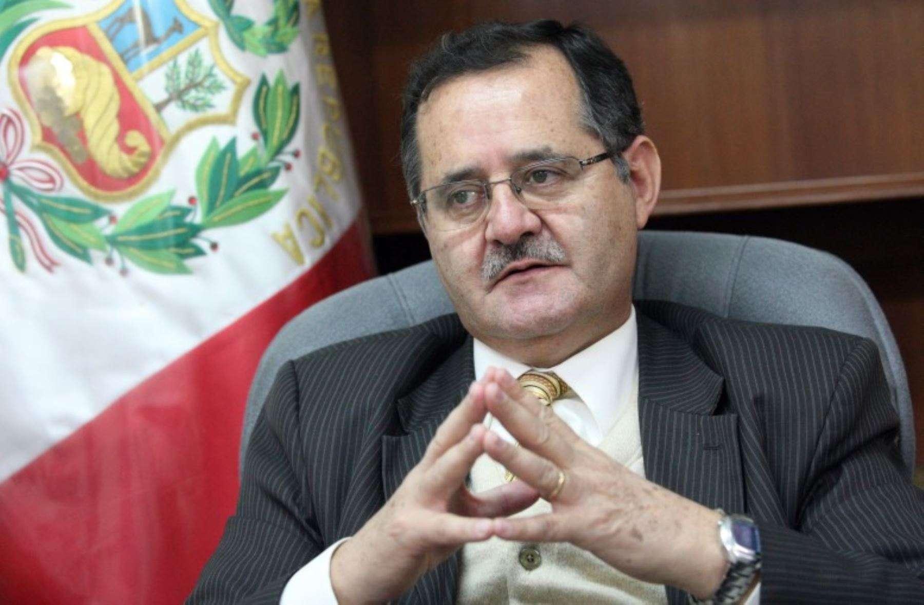 Legislador Marco Falconí Foto: Andina