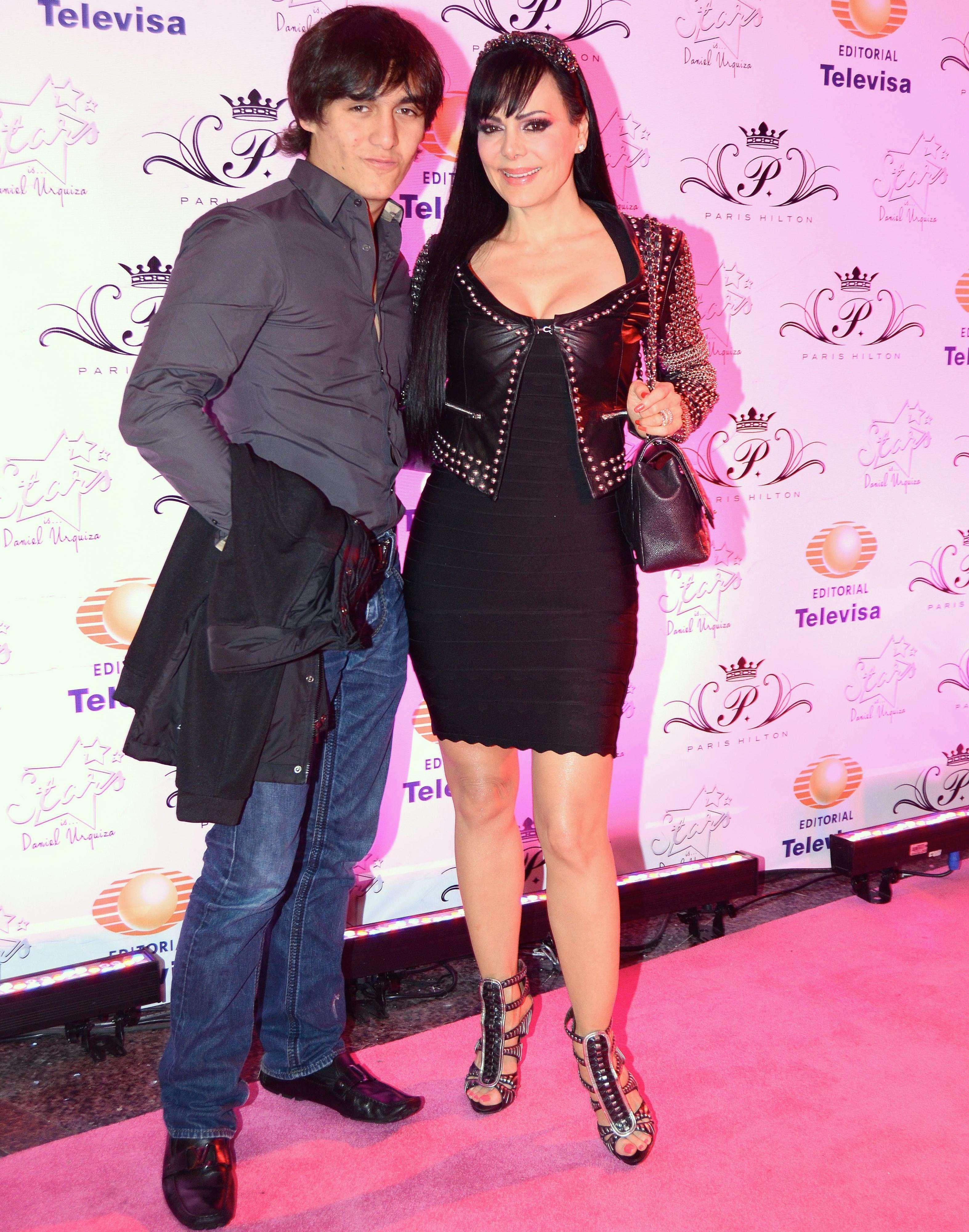 Maribel Guardia y su hijo Julián. Foto: Mezcal