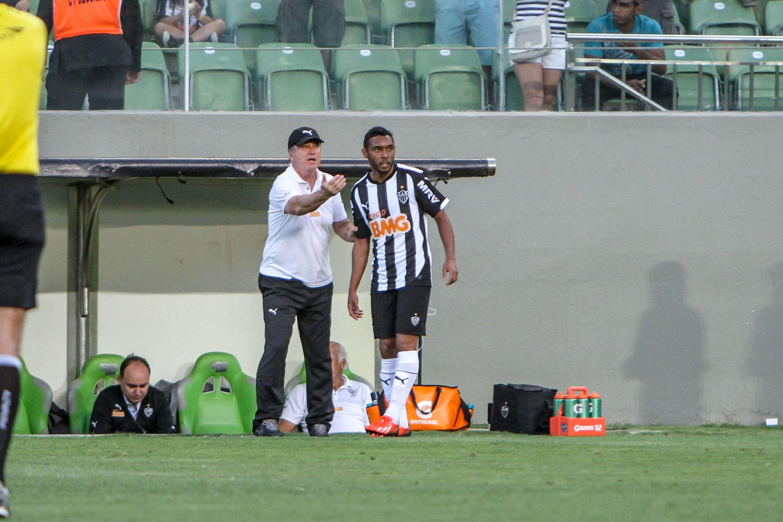 Levir ainda acredita que o Atlético-MG pode lutar pelo título nacional Foto: Bruno Cantini/Divulgação