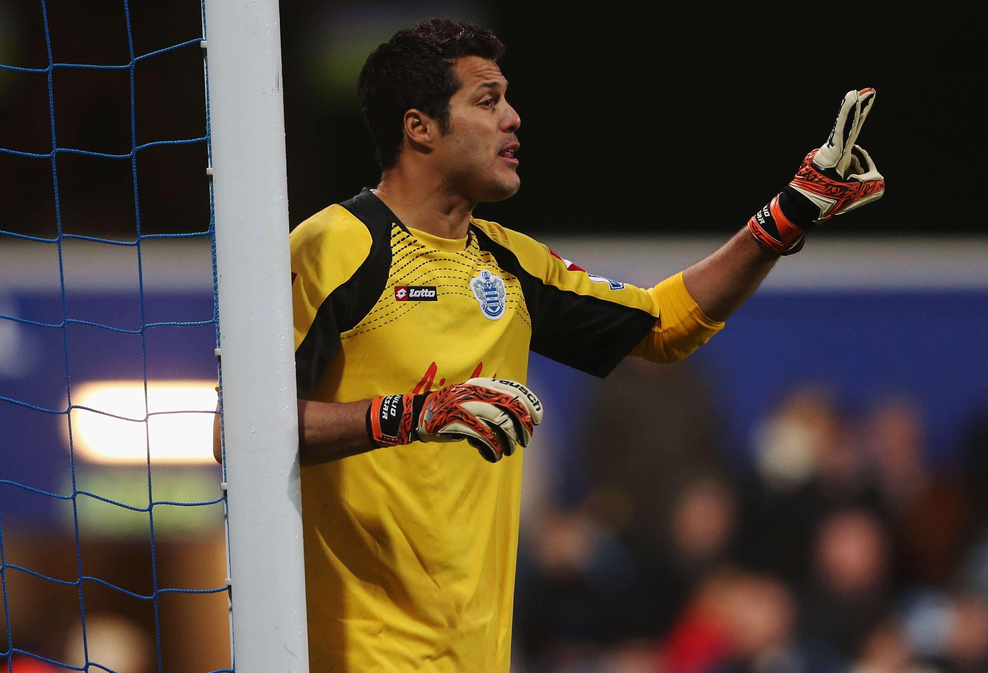 Júlio César atuou no Queens Park Rangers entre 2012 e 2014 Foto: Scott Heavey/Getty Images