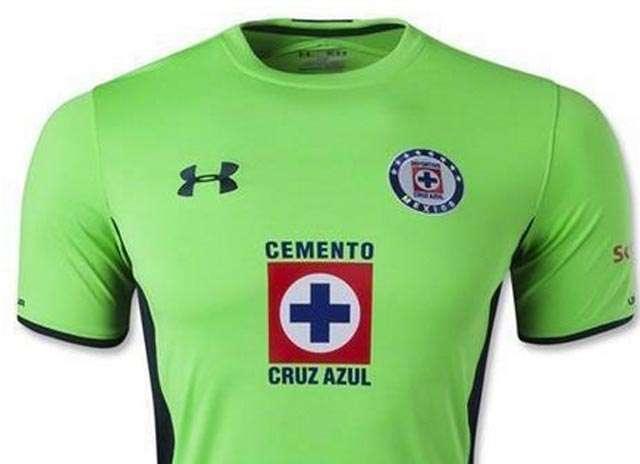 Este es la camiseta de Cruz Azul que circula en internet Foto: Internet