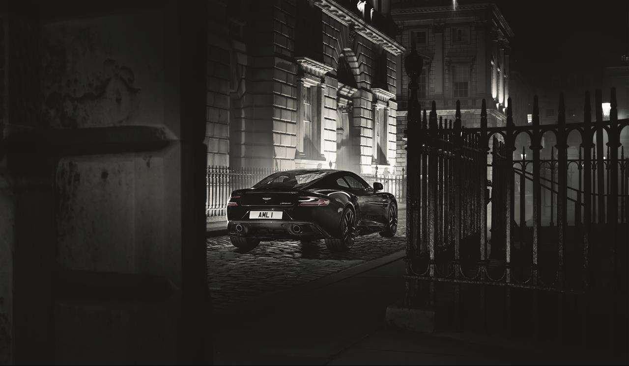 Aston Martin Vanquish Carbon Edition Foto: Aston Martin