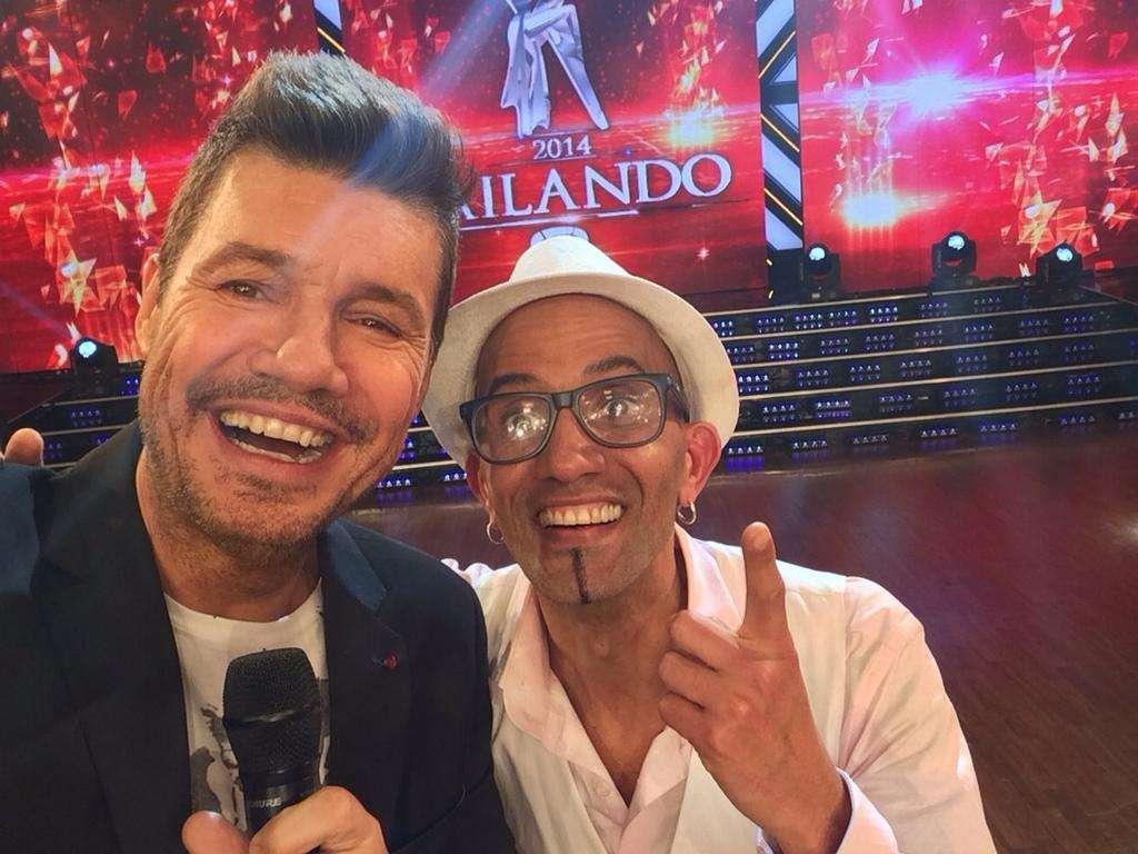 """Sixto Javier Valdes, """"El Cuba"""", es el jefe de peluquería de Ideas del Sur Foto: Twitter"""