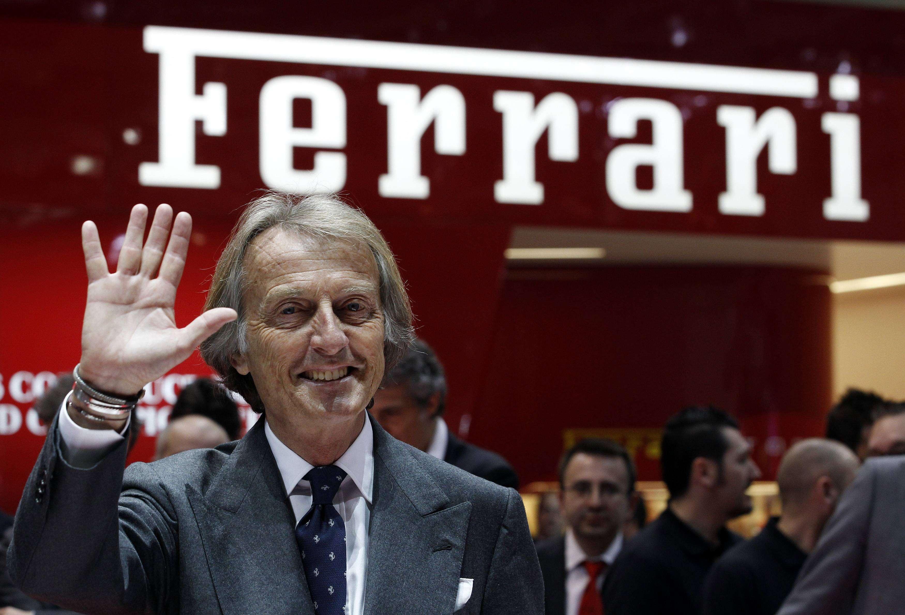 Luca Cordero de Montezemolo, presidente de Ferrari Foto: Reuters en español
