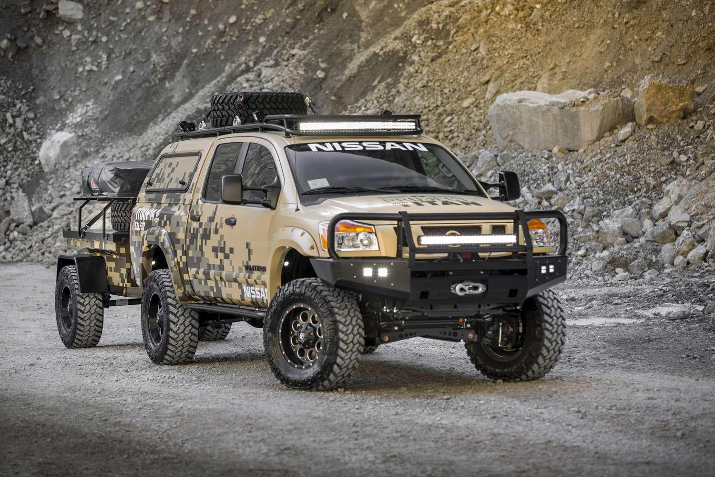 Nissan Proyecto Titan, listo para la acción en Alaska Foto: Nissan