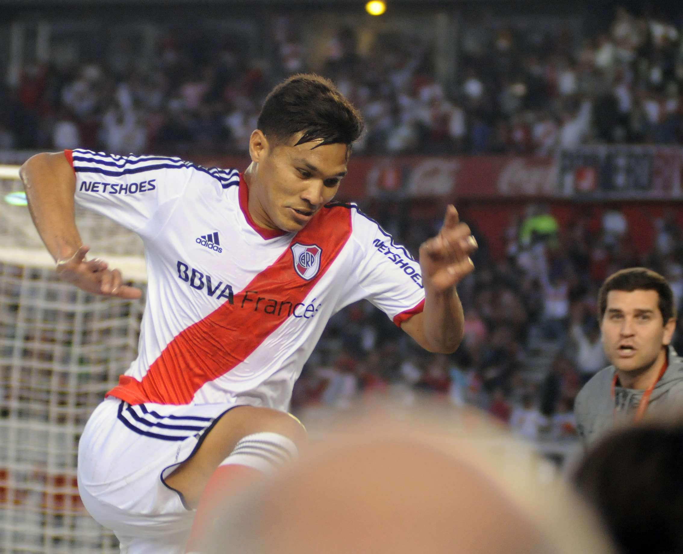 River, el puntero, será dirigido por Darío Herrera ante Arsenal Foto: NA