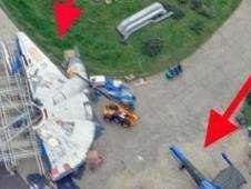 Millennium Falcon Foto: BBC Mundo/Copyright