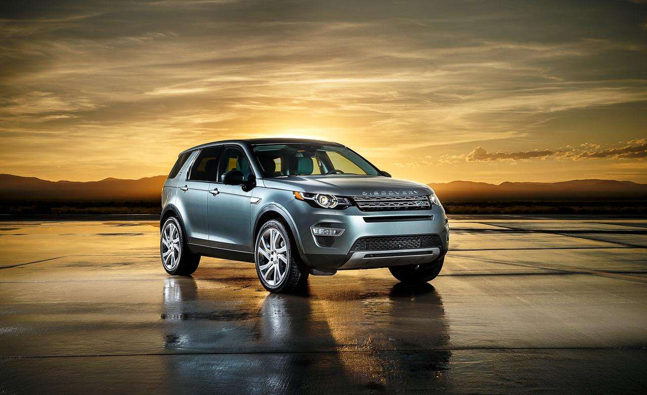 Land Rover Discovery Sport 2015 Foto: Land Rover
