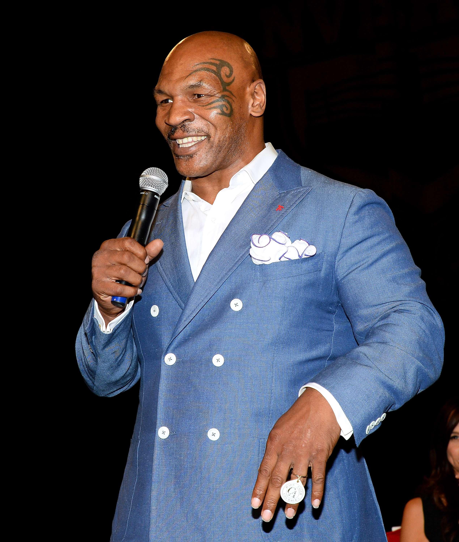 Myke Tyson en la actualidad es una estrella televisiva. Foto: Getty Images