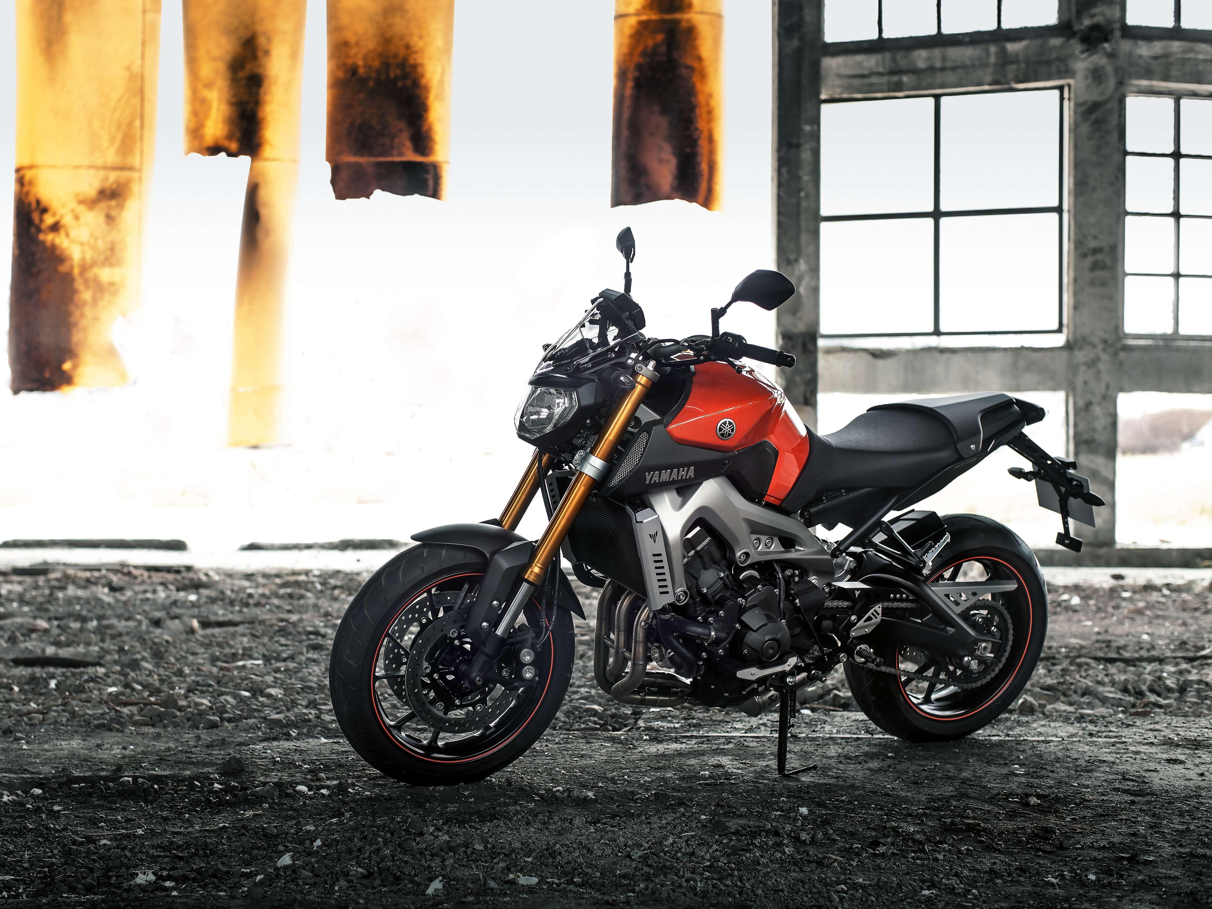Yamaha MT-09 Foto: Yamaha/Divulgação