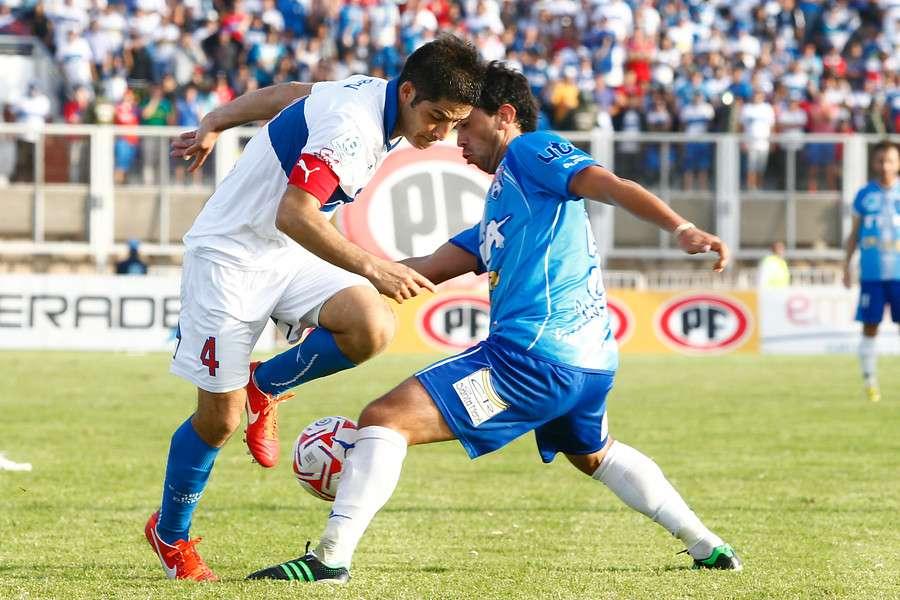 El duelo se juega en San Carlos de Apoquindo. Foto: Agencia UNO