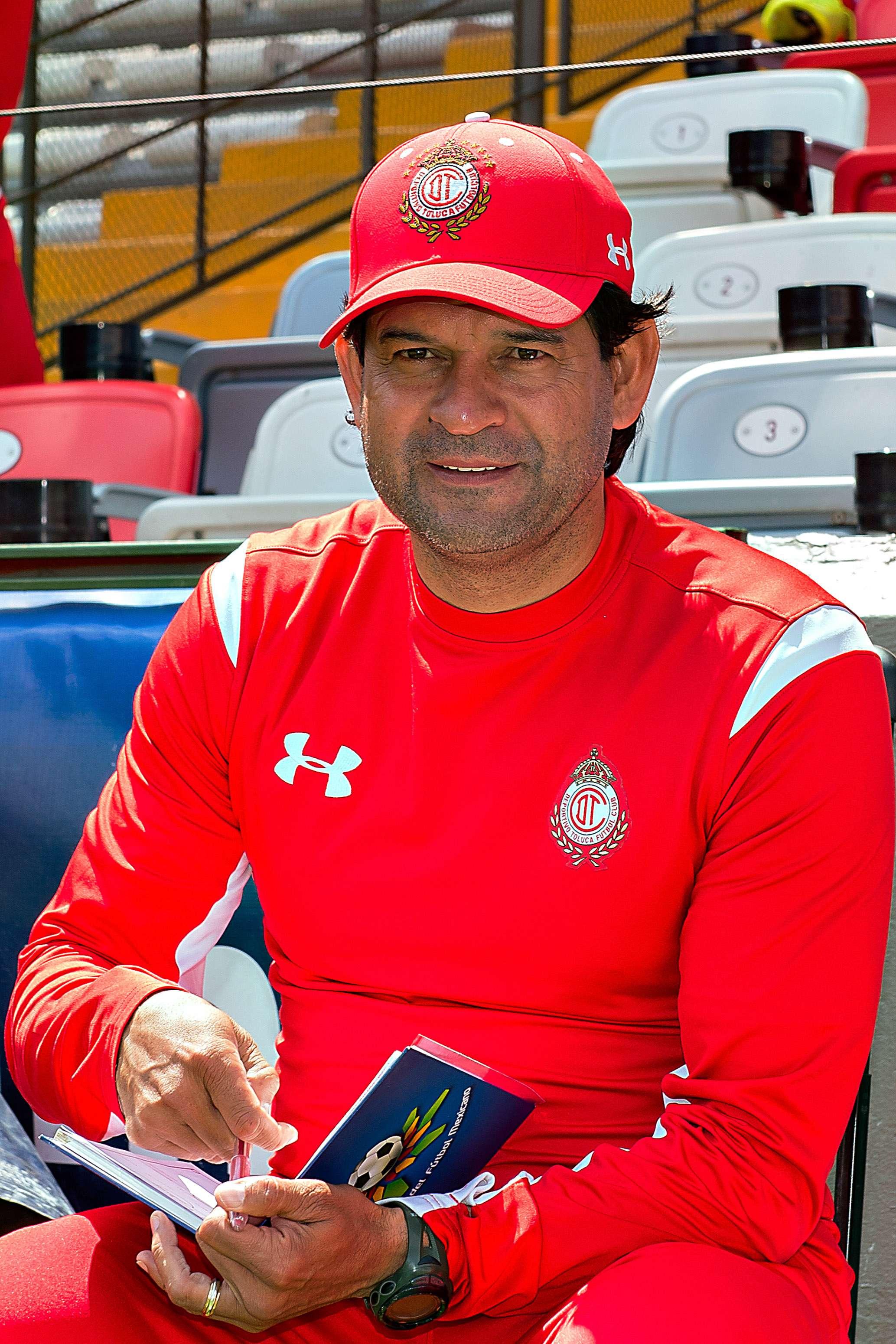 Saturnino Cardozo, director técnico de Toluca de cara al duelo de la fecha 8 ante Cruz Azul. Foto: Mexsport