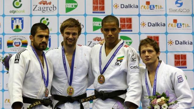 Diego conquista medalha de bronze para o Brasil Foto: CBJ/Divulgação