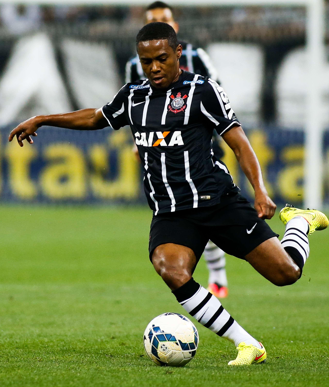 Elias voltou ao Corinthians após participar de amistosos com a Seleção Brasileira Foto: Alexandre Schneider/Getty Images