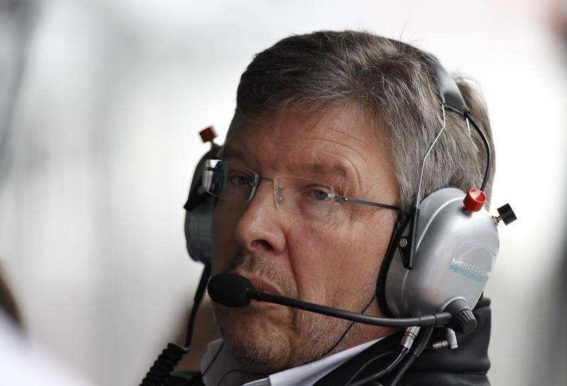 Ex-chefe da equipe Ferrari Ross Brawn durante GP da China. 15/04/2012 Foto: Aly Song/Reuters