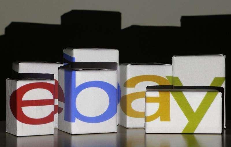 Las acciones de eBay Inc subían en torno a un 4 por ciento con un volumen abultado el viernes, un movimiento que dos operadores bursátiles en Europa y uno en Estados Unidos achacaban a rumores de que Google Inc estaría interesada en tomar una participación relevante en eBay. En la imagen, un logo de eBay en una foto tomada en Varsovia el 21 de enero de 2014. Foto: Kacper Pempel/Reuters