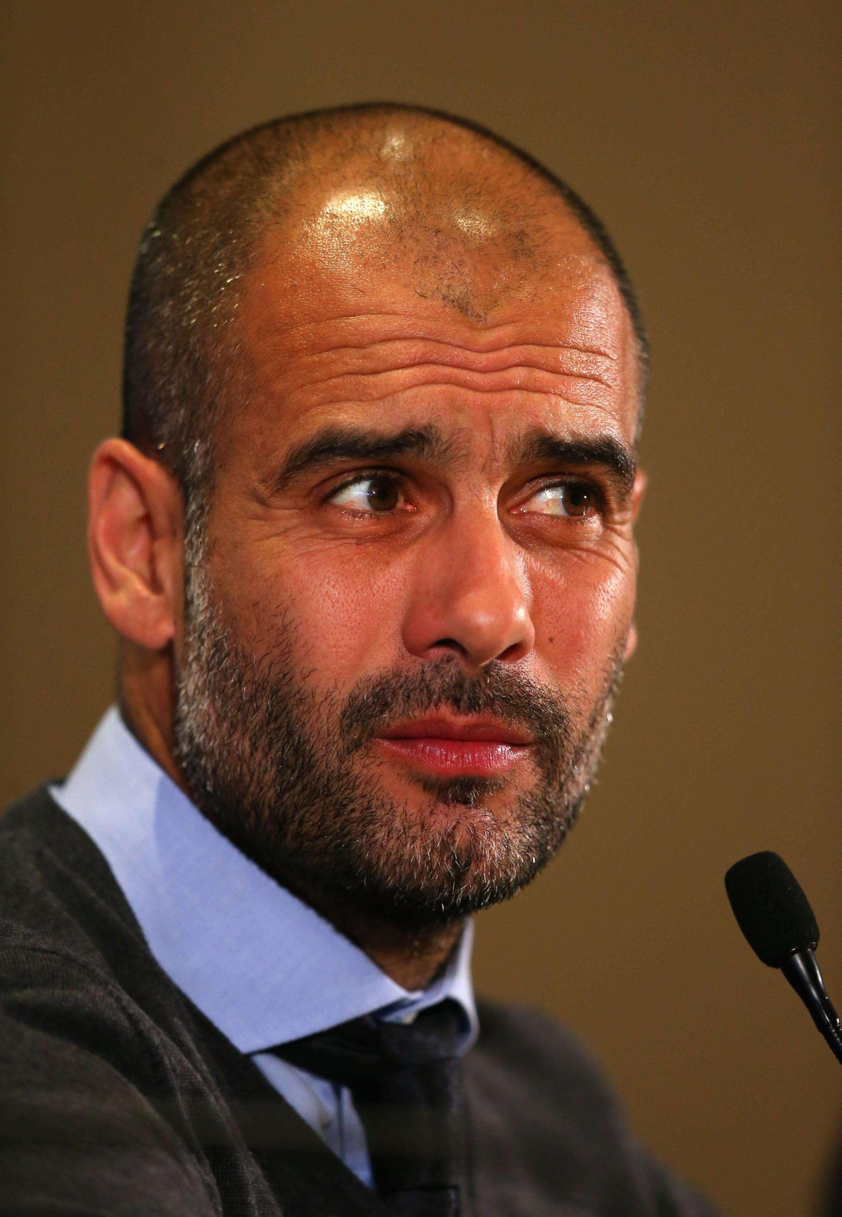 Guardiola apoya a su jugador Ribéry. Foto: Getty Images
