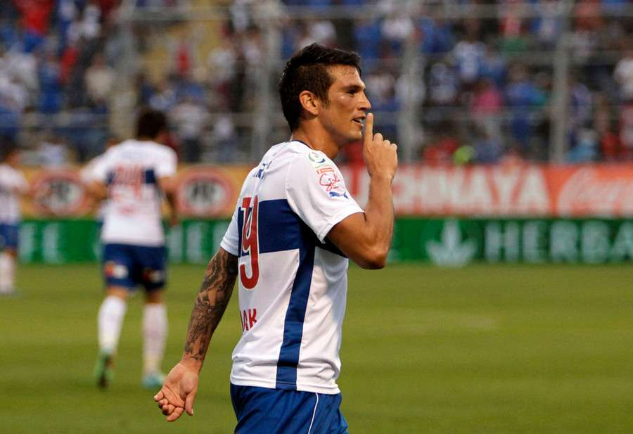 """Mark González cedió su puesto a """"Ribery"""" Muñoz. Foto: Agencia UNO"""