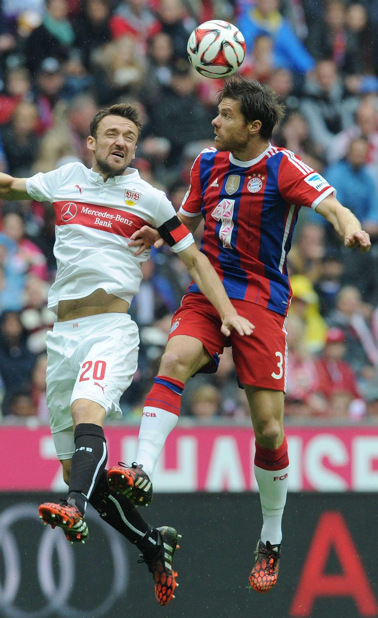 Bayern Múnich choca ante el Stuttgart en la Allianz Arena en acciones correspondientes a la Bundesliga 2014-2015 Foto: AFP en español