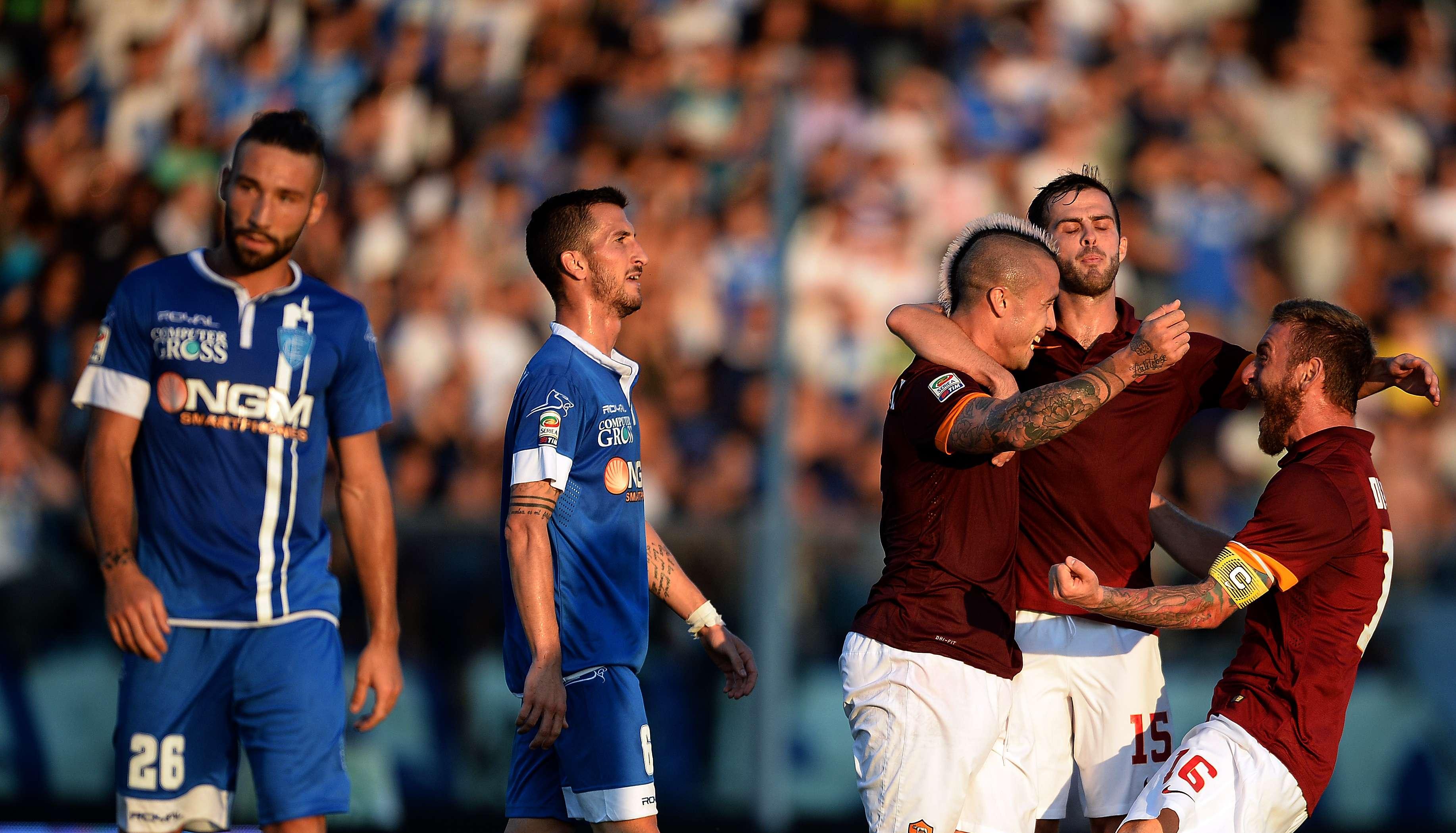 Roma venceu dois jogos Foto: Filippo Monteforte/AFP