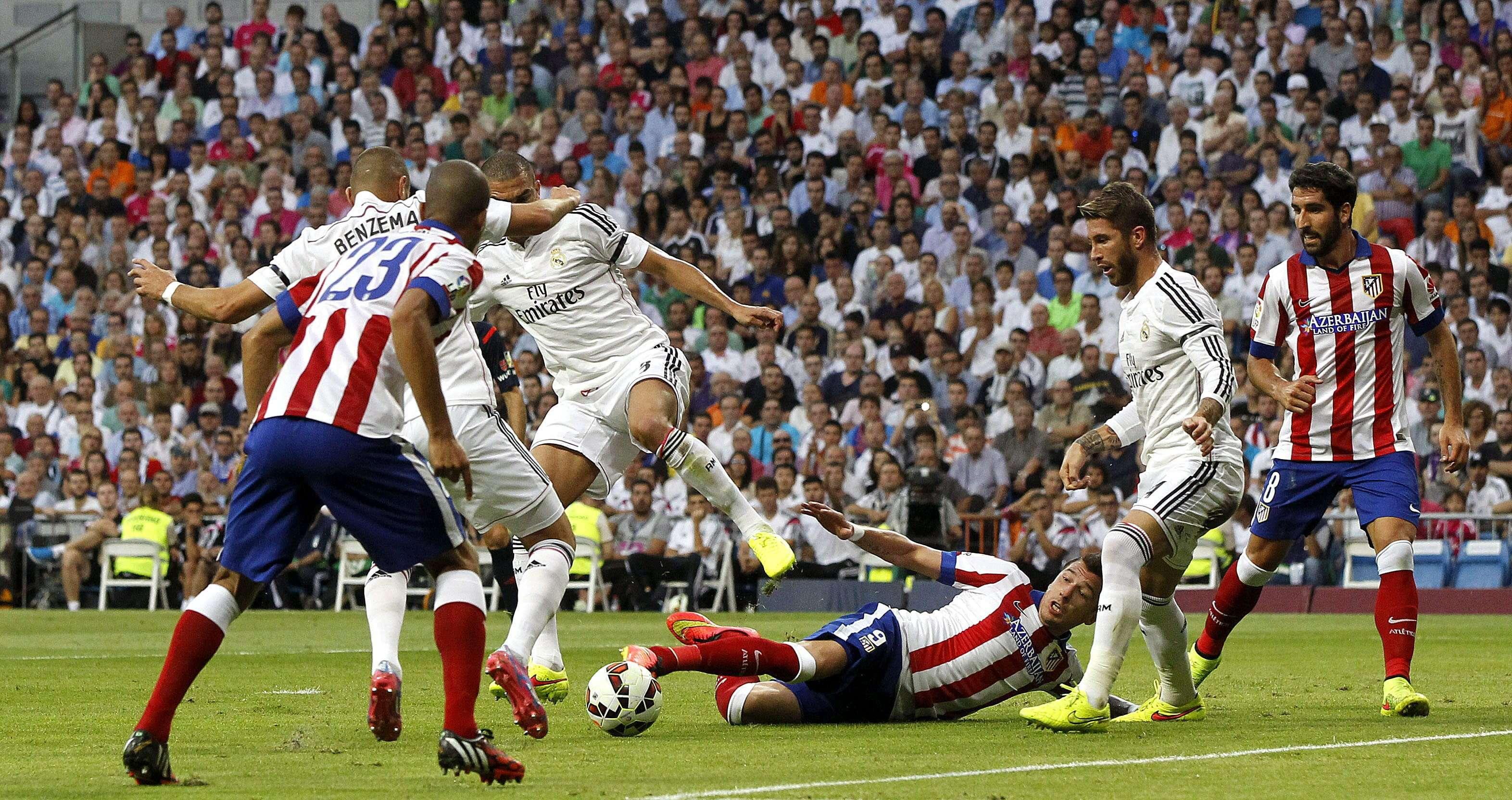Real Madrid - Atlético de Madrid (Jornada 3). Foto: EFE