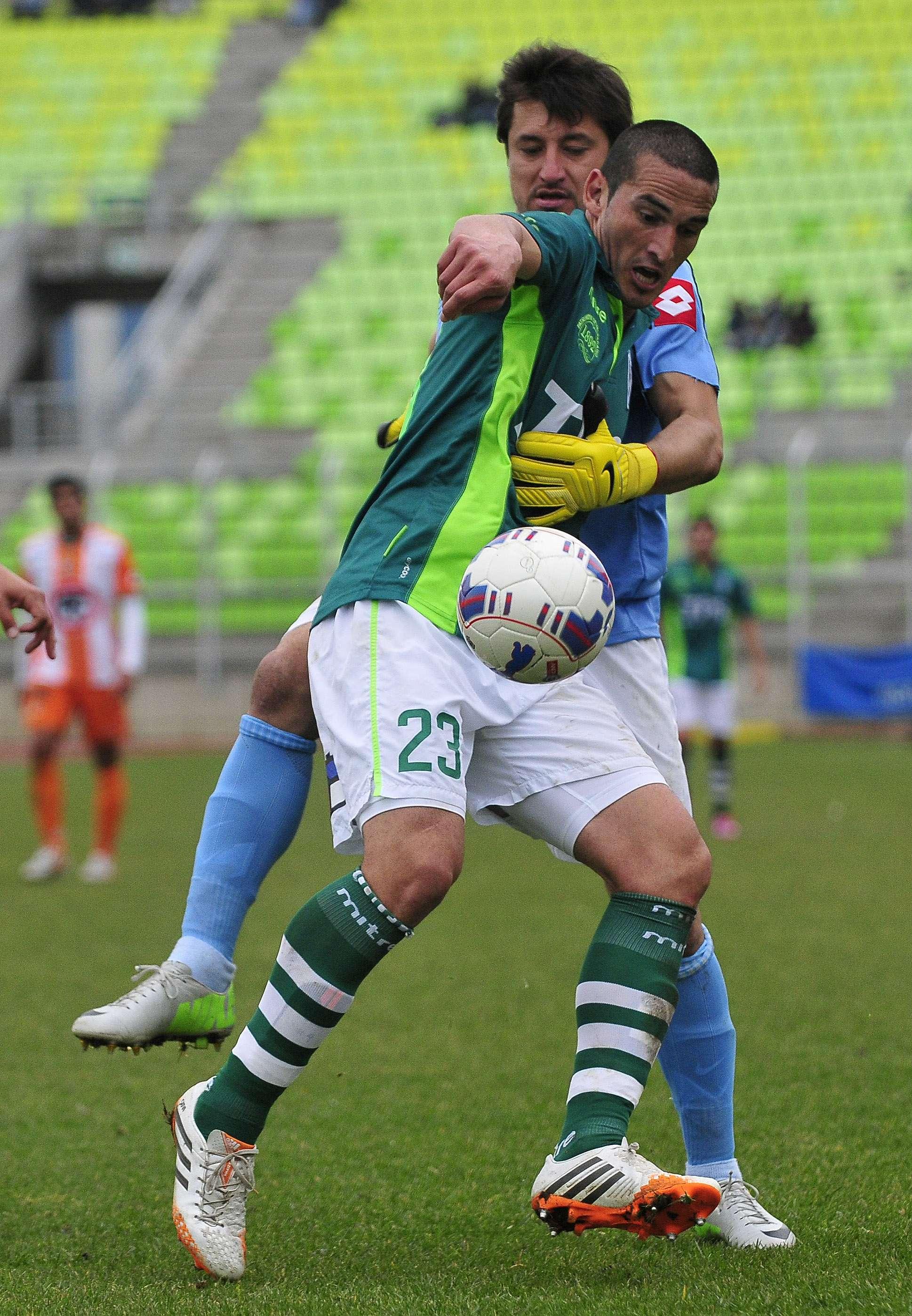 Santiago Wanderers derrotó este sábado por 4-1 a Cobresal, en Valparaíso, por la octava fecha del Torneo de Apertura 2014. Foto: Agencia UNO