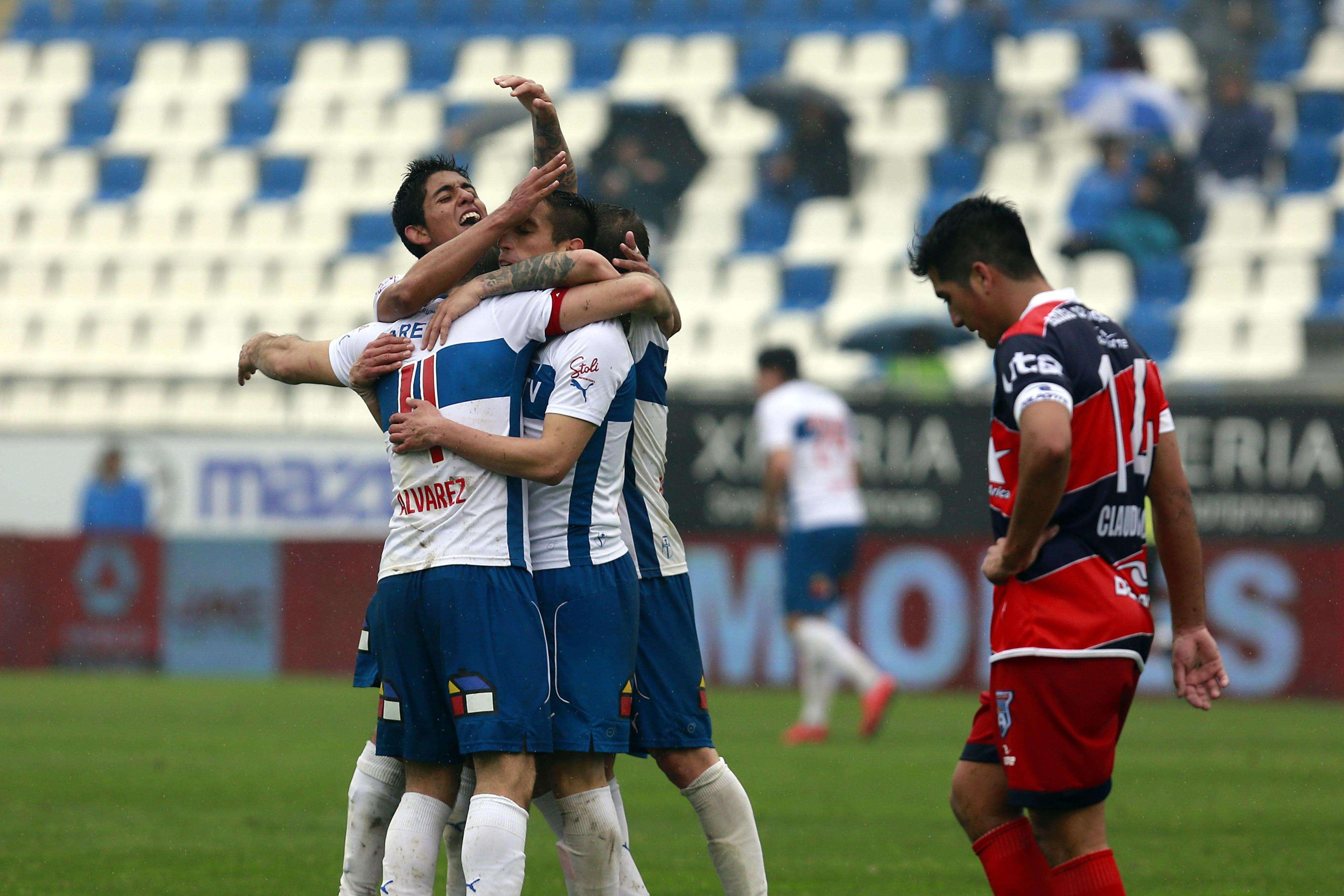 Universidad Católica venció por 2-0 a Arica con dos tantos de José Luis Muñoz, en el duelo válido por la fecha 8 del Torneo de Apertura, jugado en San Carlos de Apoquindo. Foto: Agencia UNO