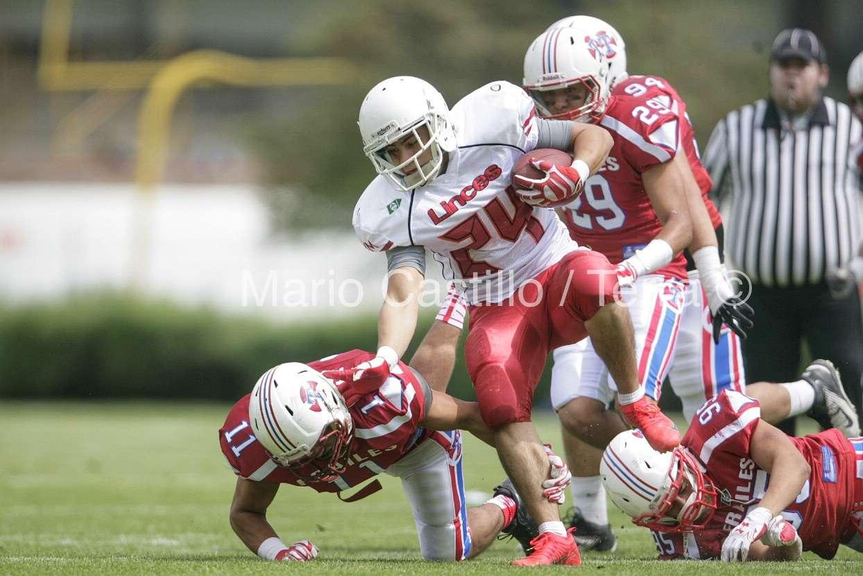 Linces México explotó en el último cuarto con dos touchdowns Foto: Mario Castillo / Derechos reservados/TERRA