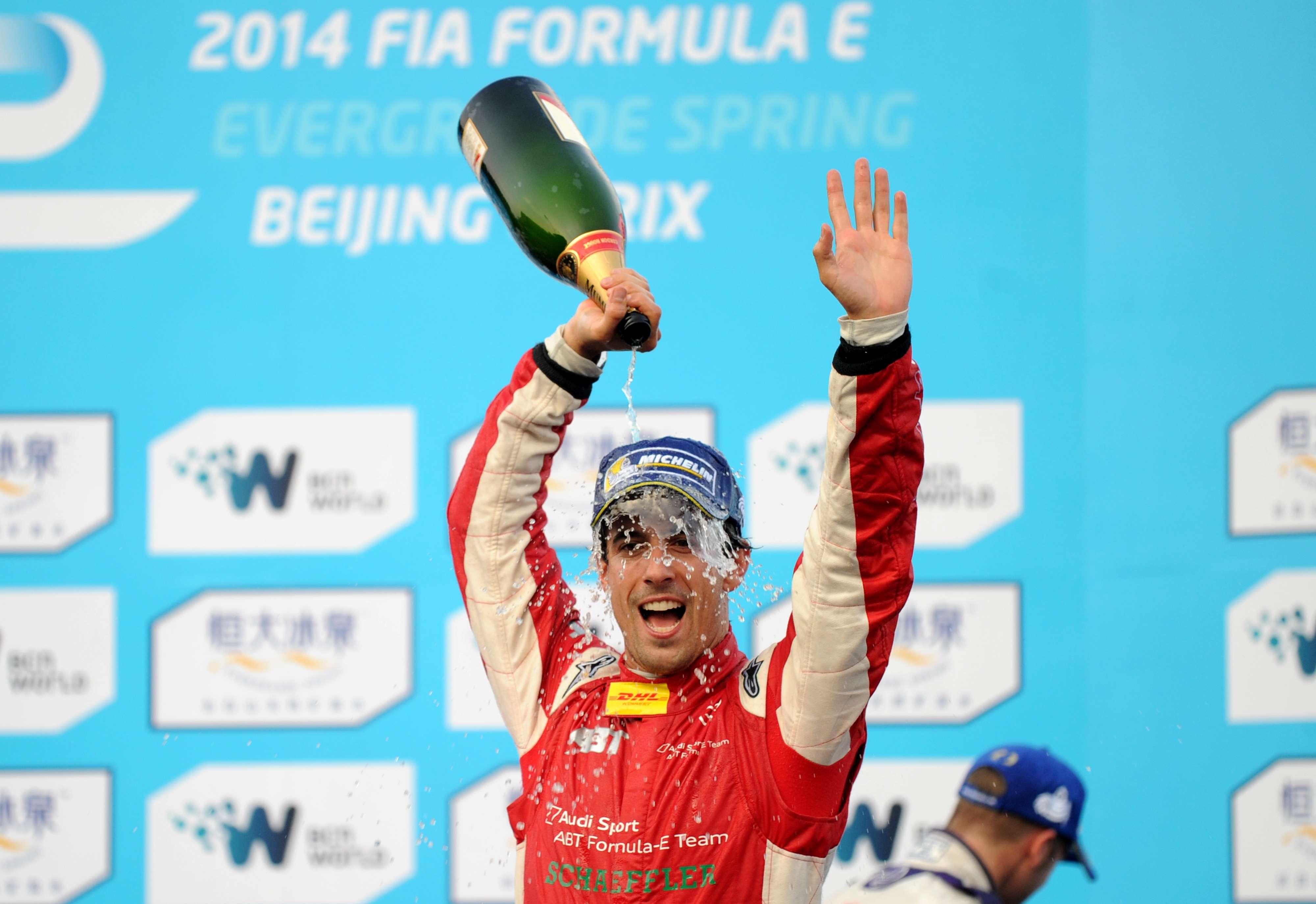 Lucas di Grassi vence a primeira prova da Fórmula E Foto: Wang Zhao/AFP