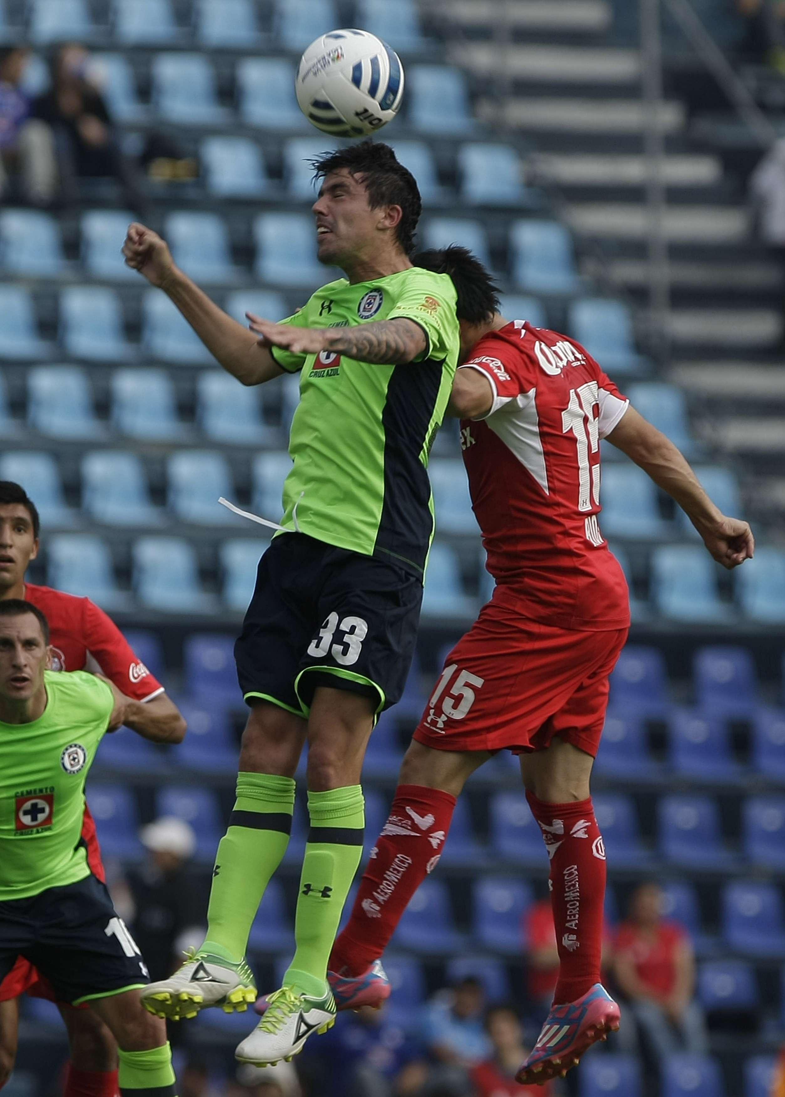 Formica lamenta la falta de gol en Cruz Azul. Foto: Mexsport