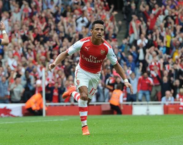 Alexis Sánchez quiere seguir con su buen nivel en Arsenal Foto: Getty Images