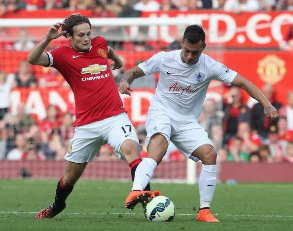 Edu sumó sus primeros minutos en la Premier League. Foto: Getty Images