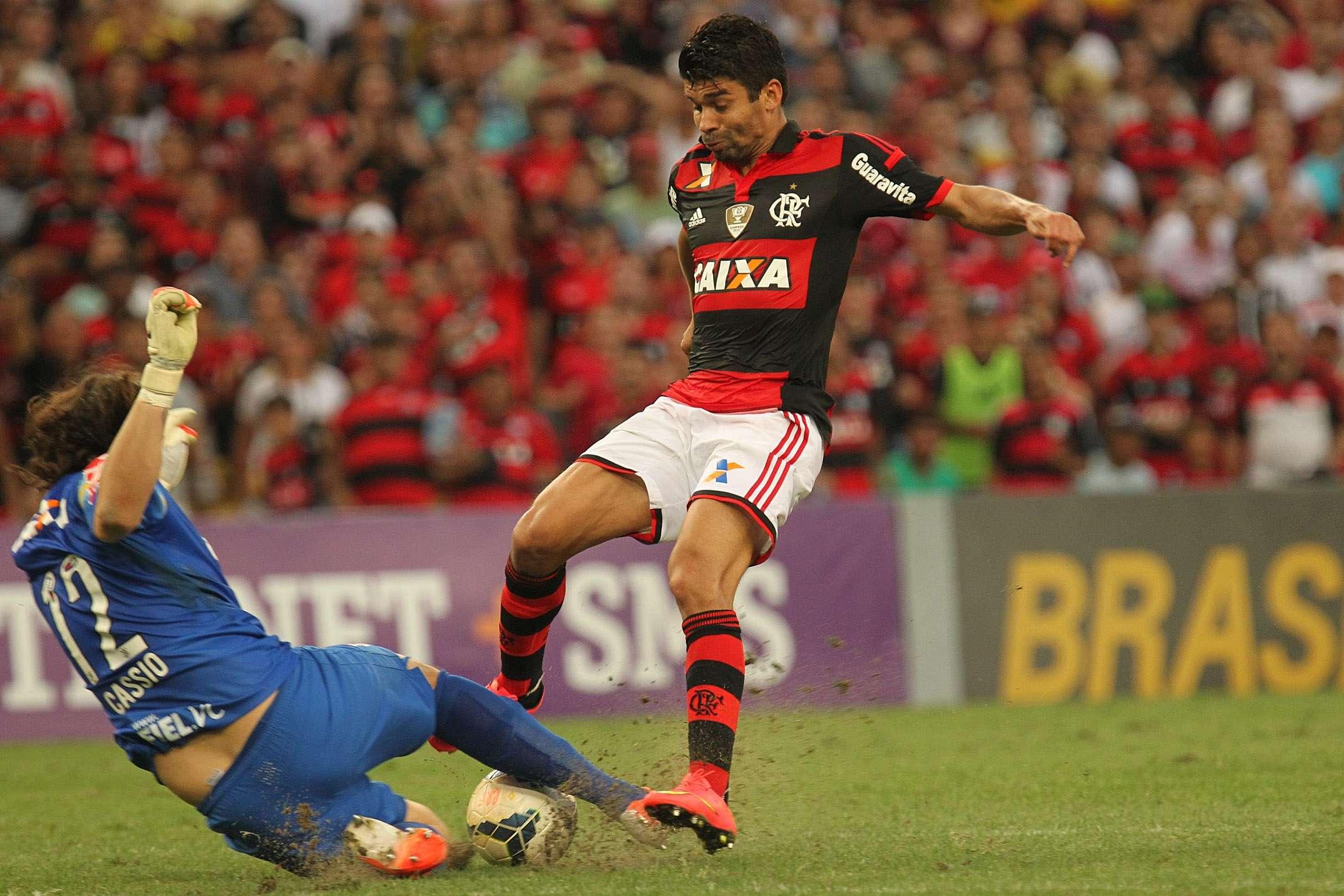 Cássio foi o melhor jogador do Corinthians em campo Foto: Gilvan de Souza/Fla Imagens/Divulgação