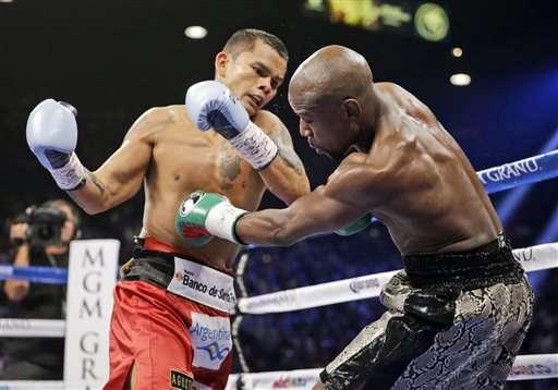 Mayweather vs Chino Maidana en Las Vegas Foto: AP en español
