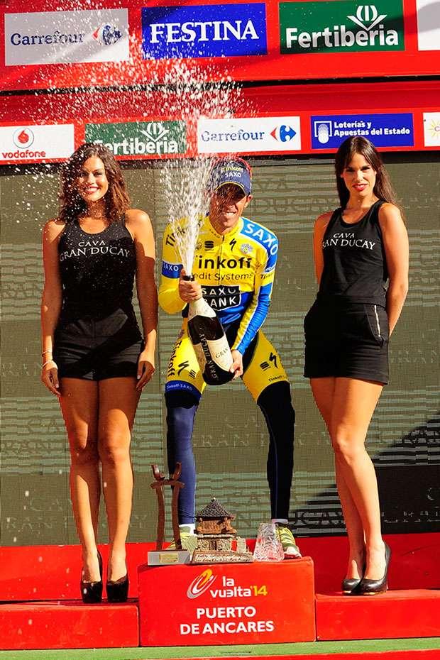 Alberto Contador, campeón de la Vuelta a España 2014 Foto: La Vuelta