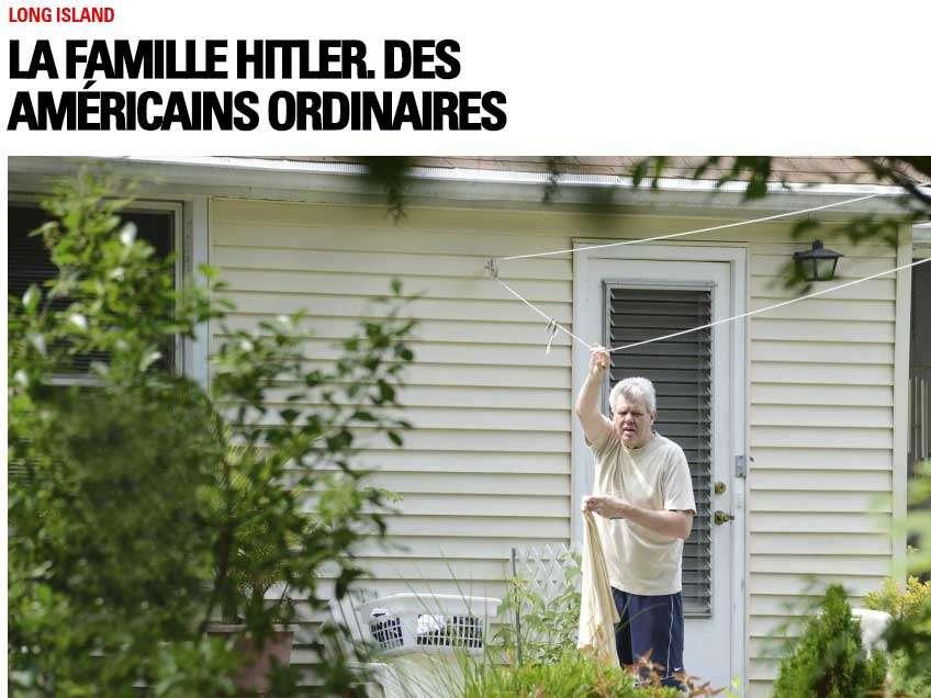 En internet, Paris Match acompaña el reportaje con un árbol genealógico de la familia Hitler. Foto: Paris Match