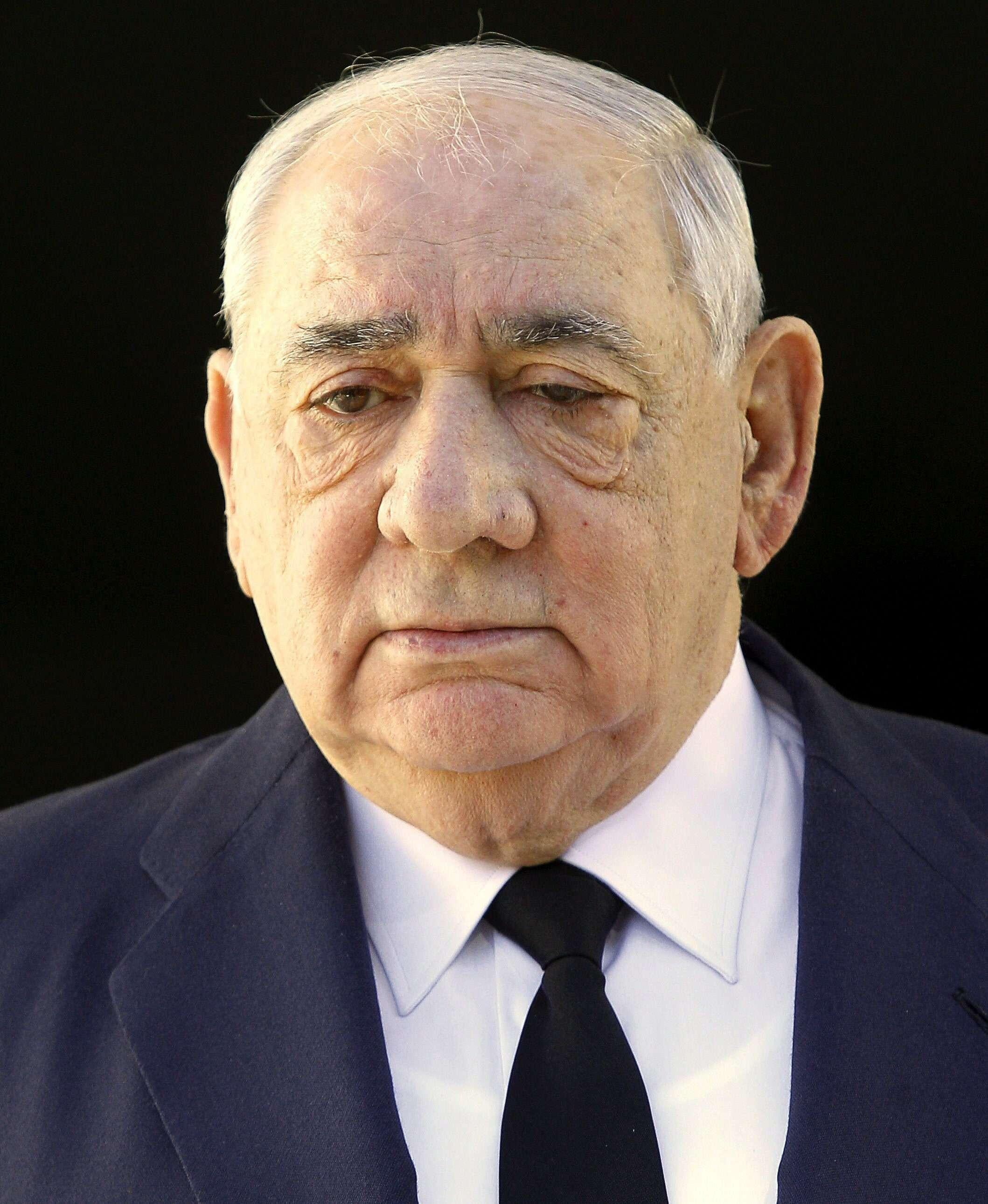 Fotografía de archivo, fechada en Madrid el 26 de agosto de 2012, de Isidoro Alvarez, presidente de El Corte Inglés. Foto: EFE / Archivo