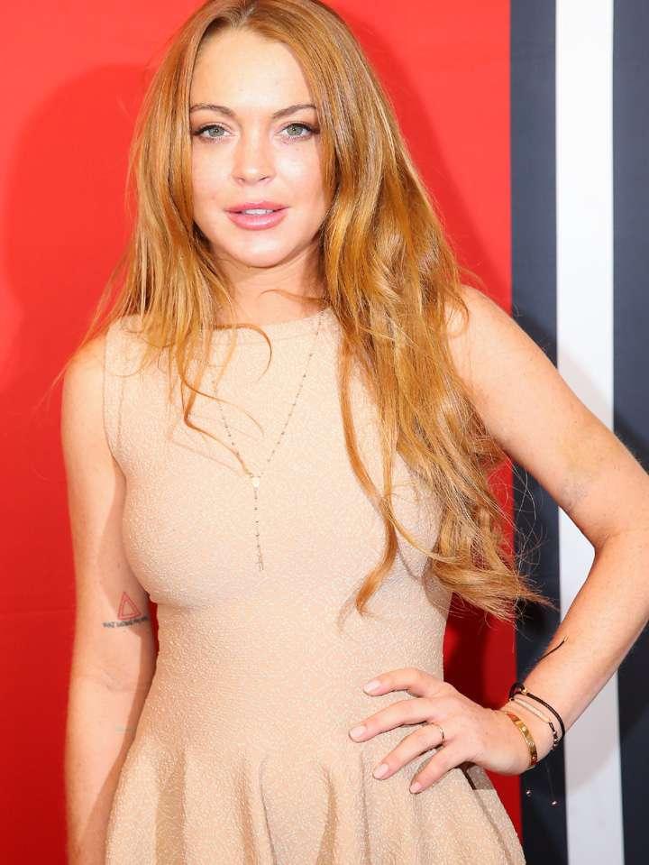 Lindsay Lohan fue sentenciada a realizar 120 horas de servicio comunitario en un depósito de cadáveres Foto: Getty Images