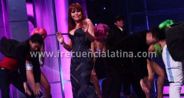 Magaly Medina estrena programa. Foto: Twitter Frecuencia Latina