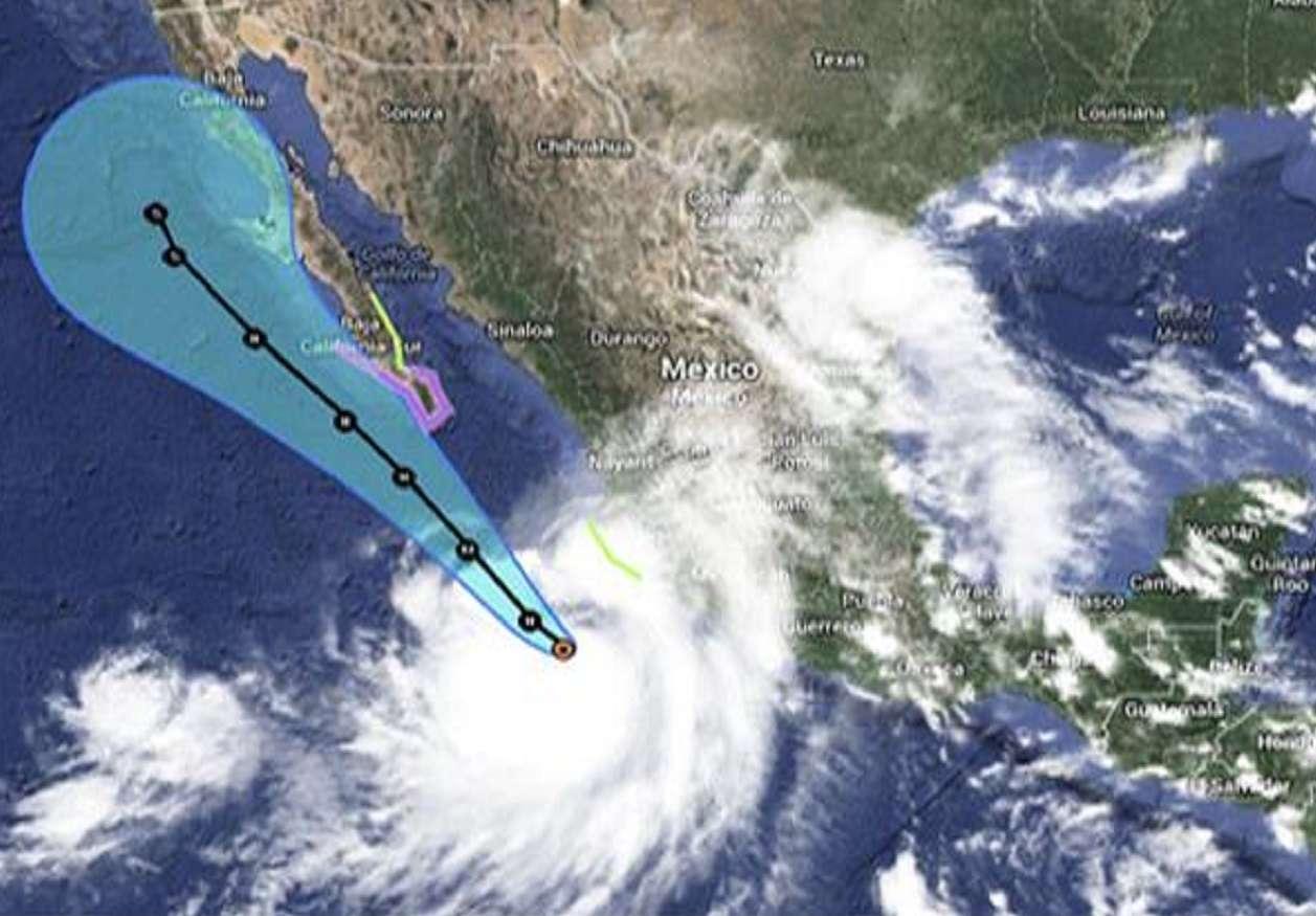 'Odile' baja a categoría III, alerta por lluvias se mantiene Foto: Conagua
