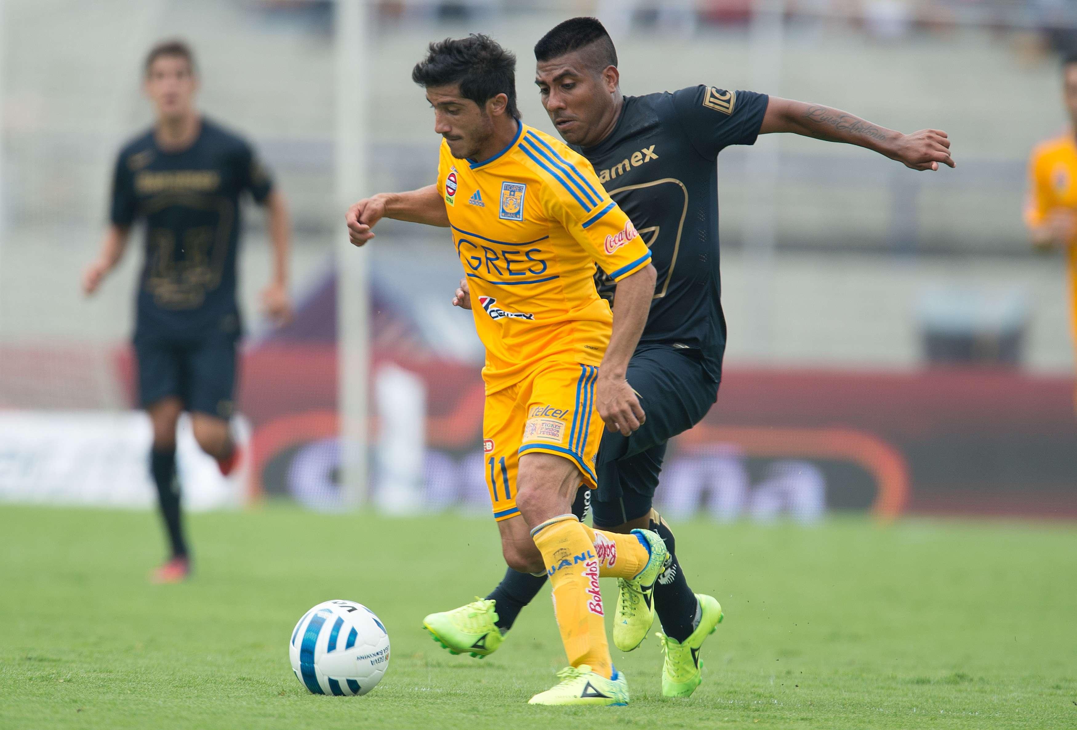 Pumas y Tigres regalaron juego entretenido en Ciudad Universitaria. Foto: Mexsport