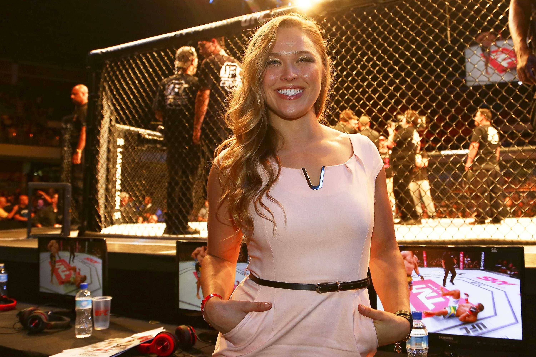 Ronda Rousey no UFC Brasília Foto: Wagner Carmo/ Inovafoto/Divulgação