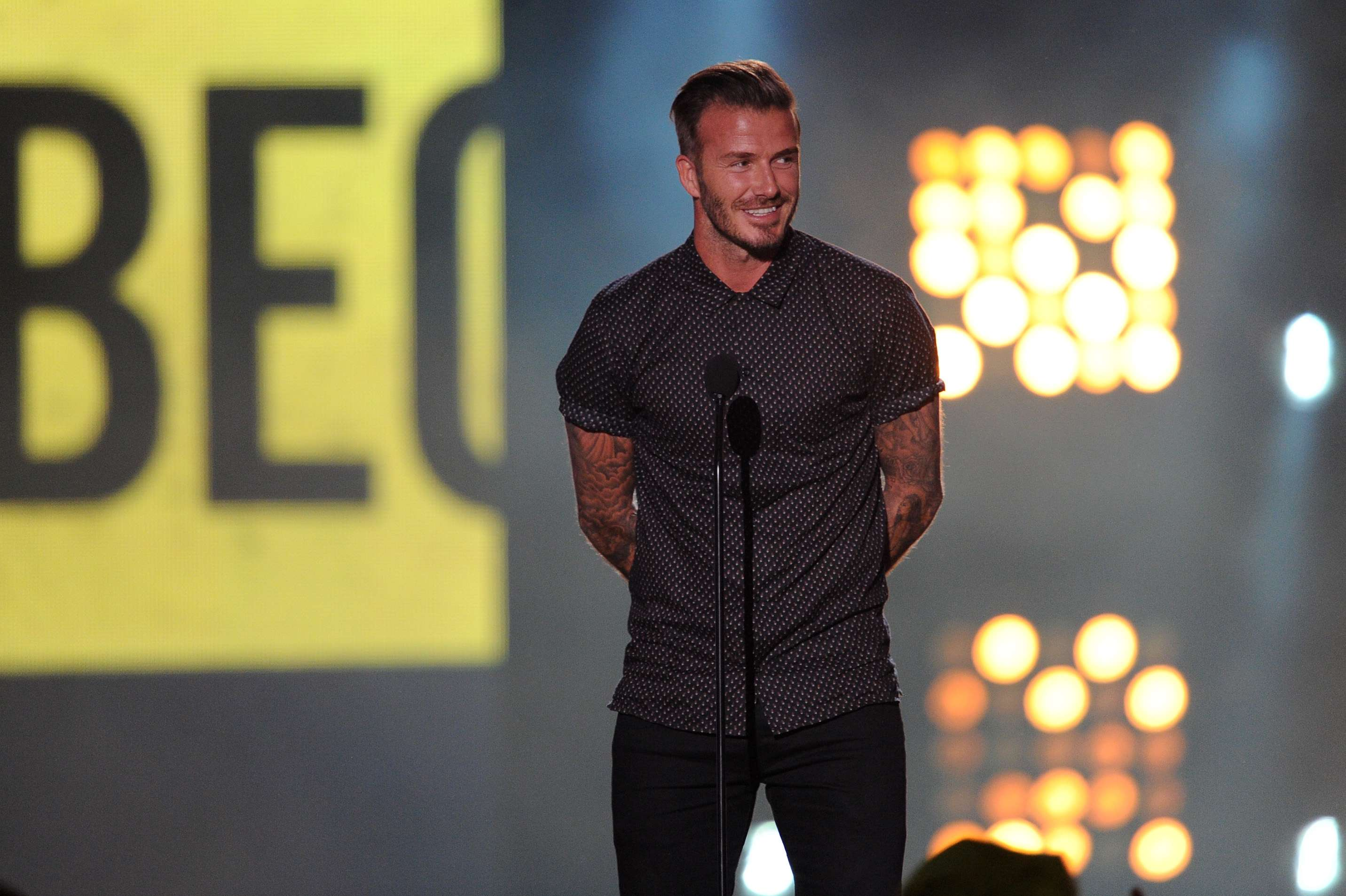 David Beckham. Foto: Getty Images
